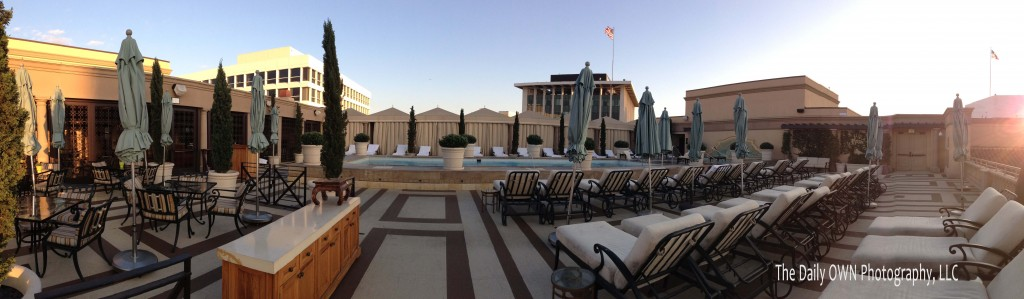 Sunset on the Rooftop, Montage Beverly Hills 2013